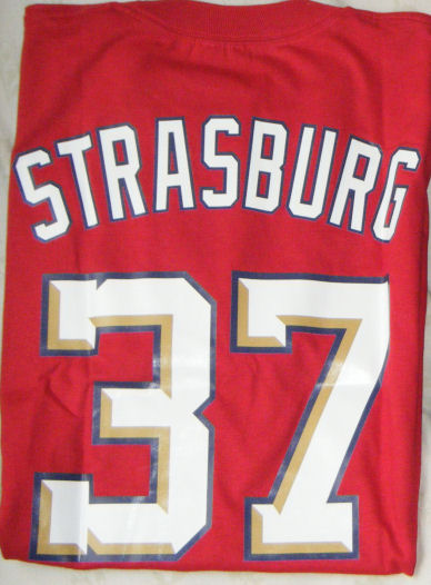 Stephen Strasburg Custom Nationals t-shirt